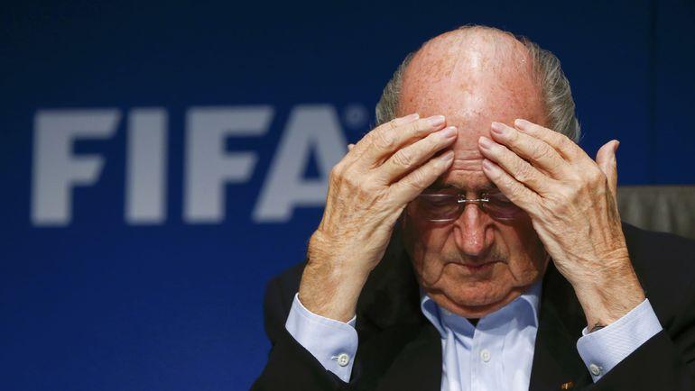 Зепп БЛАТТЕР больше не может рассчитывать на союзников из Европы. Но для переизбрания в президенты ФИФА может быть достаточно и других голосов. Фото REUTERS