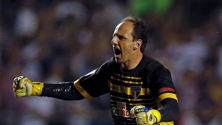 "Вратарь ""Сан Паулу"" Рожериу СЕНИ. Фото Reuters"