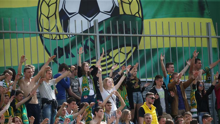 """В следующем сезоне болельщики """"Кубани"""" смогут влиять на судьбу клуба. Фото Виталий ТИМКИВ"""