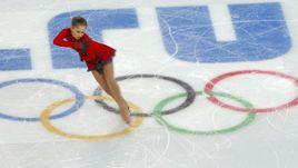 9 февраля 2014 года. Сочи. Произвольная программа Юлии ЛИПНИЦКОЙ в рамках золотого командного турнира.