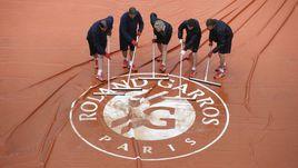 Roland Garros-2015: лучшие кадры воскресенья