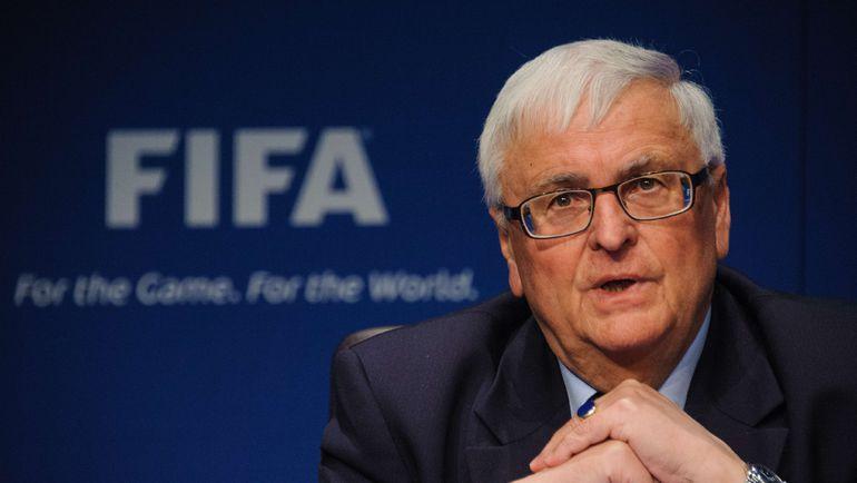 Бывший глава Немецкого футбольного союза Тео ЦВАНЦИГЕР. Фото AFP