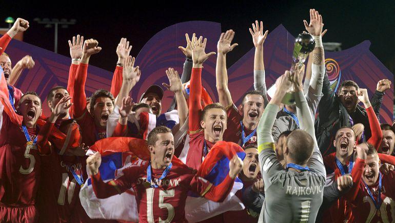 Суббота. Окленд. Бразилия - Сербия - 1:2 д.в. Сербия - победитель юниорского чемпионата мира. Фото REUTERS