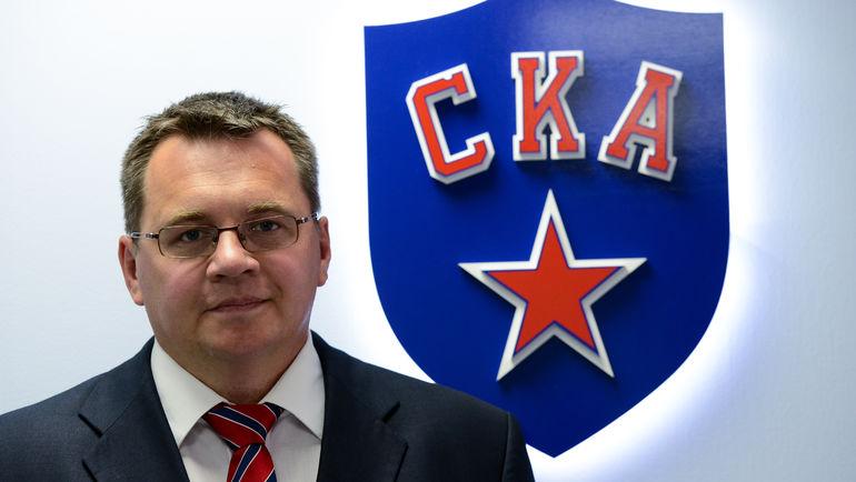 Главный тренер СКА Андрей НАЗАРОВ,. Фото Фото - ХК СКА/SKA.ru
