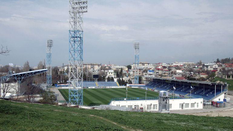 """Cтадион """"Севастополя"""", где скоро будут проходить матчи крымской лиги. Фото AFP"""
