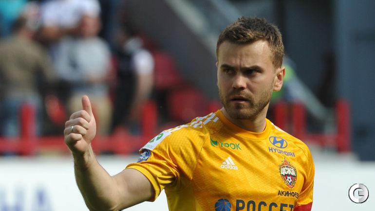 Игорь АКИНФЕЕВ (вратарь) - ЦСКА.