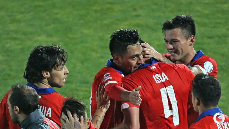 Сборная Чили выбила Уругвай из Кубка Америки