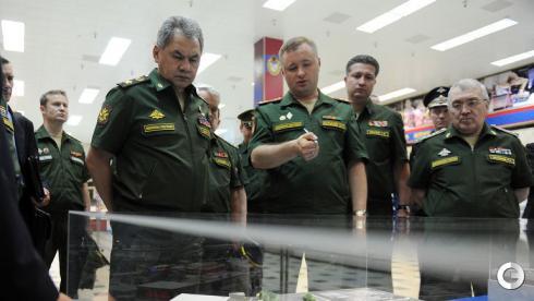 Спортсмены и руководство ЦСКА встретились с Сергеем Шойгу