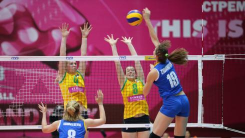 Сборная Казахстана победила Кубу на финише домашнего этапа
