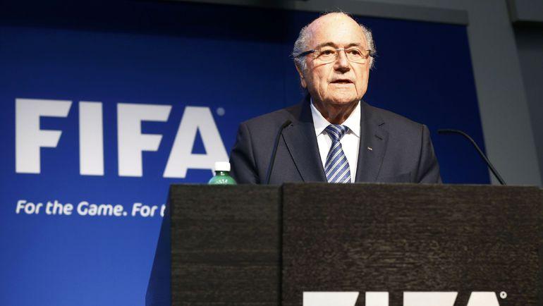Президент ФИФА Зепп БЛАТТЕР. Фото REUTERS