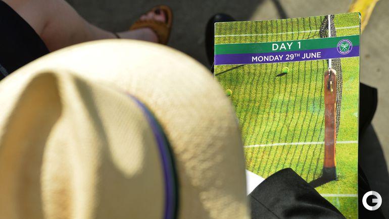 Уимблдон-2015: лучшие кадры понедельника