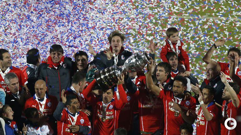 Чили - обладатель Кубка Америки-2015