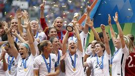 Сборная США выиграла чемпионат мира