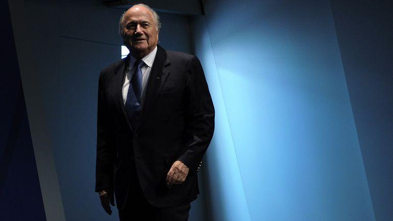 Йозеф БЛАТТЕР. Фото AFP