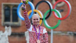 1 августа 2012 года. Лондон. Ольга ЗАБЕЛИНСКАЯ – бронзовая призерка Олимпийских игр.