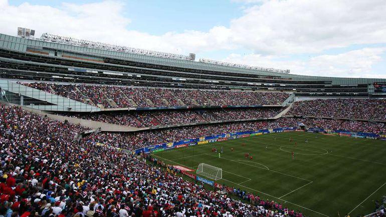 Финал Золотого кубка-2013, в котором США победили Панаму, прошел в Чикаго. Фото AFP