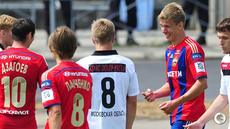Первая победа ЦСКА в новом сезоне