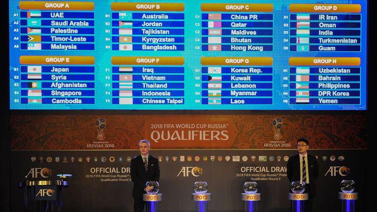 отборочные матч чемпионат мира 2018 азии