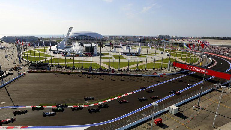 """Трасса """"Формулы-1"""" в Сочи. Фото REUTERS"""