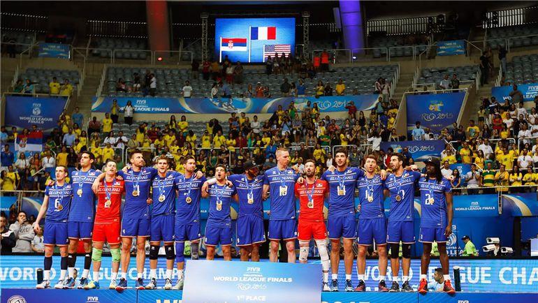 Сегодня. Рио-де-Жанейро. Франция – Сербия – 3:0. Сборная Франции - победитель Мировой лиги. Фото fivb.org