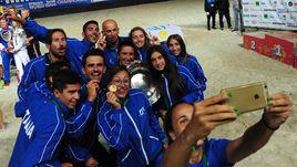 Россия – серебряный призер Командного ЧМ по пляжному теннису 2015