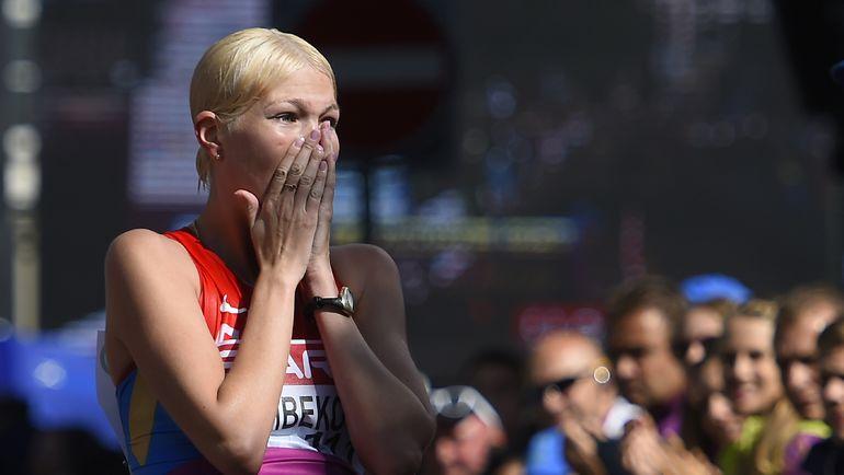 Для чемпионки Европы и победительницы Кубка мира Эльмиры АЛЕМБЕКОВОЙ будущий чемпионат мира - реальный шанс на золотую медаль. Фото AFP