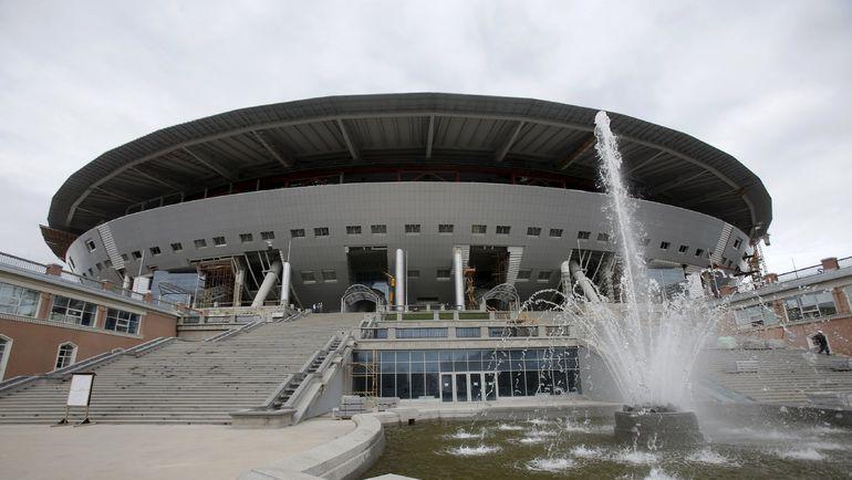 """""""Зенит-Арена"""" откроется 27 мая 2016 года. Фото REUTERS"""