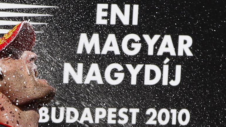 "Марк УЭББЕР - победитель ""Гран-при Венгрии""-2010. Фото REUTERS"