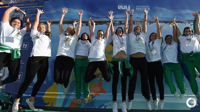 Церемония открытия Чемпионата мира по водным видам спорта