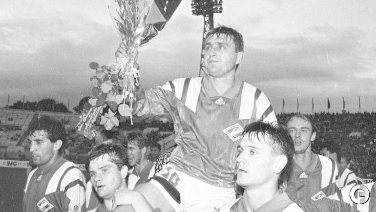 Проводы Федора ЧЕРЕНКОВА из футбола.
