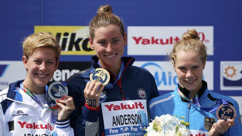 На ЧМ в Казани определились первые медалисты