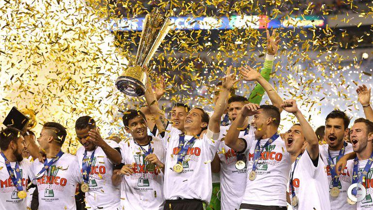 Мексика выиграла Золотой Кубок КОНКАКАФ.
