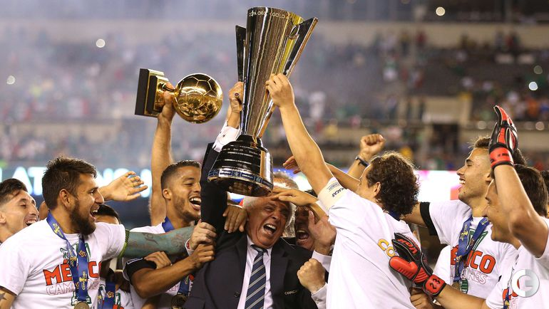Мексика выиграла Золотой Кубок КОНКАКАФ. Фото AFP