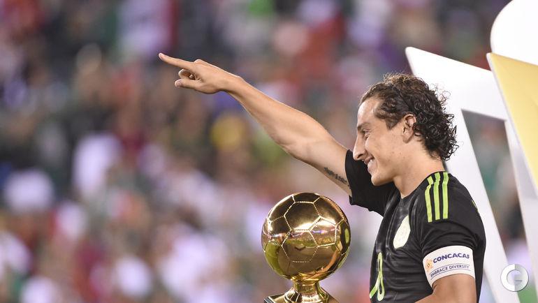 Мексика выиграла Золотой Кубок КОНКАКАФ. Фото REUTERS
