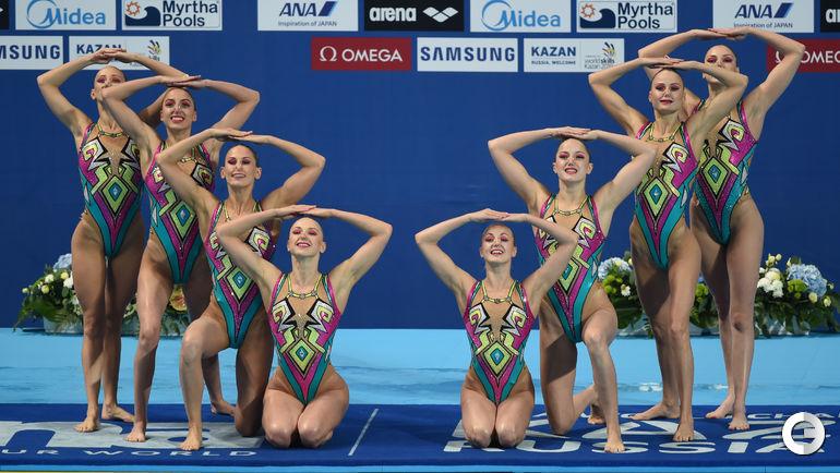 Россиянки снова золотые