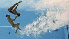 ЧМ по водным видам спорта-2015: микст-дуэт