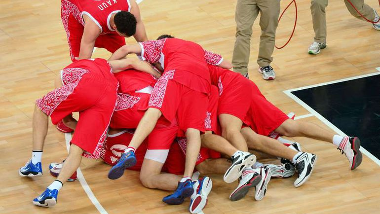 12 августа 2012 года. Лондон. Бронзовая радость России на Олимпийских играх. Когда будет следующий большой успех? Фото AFP