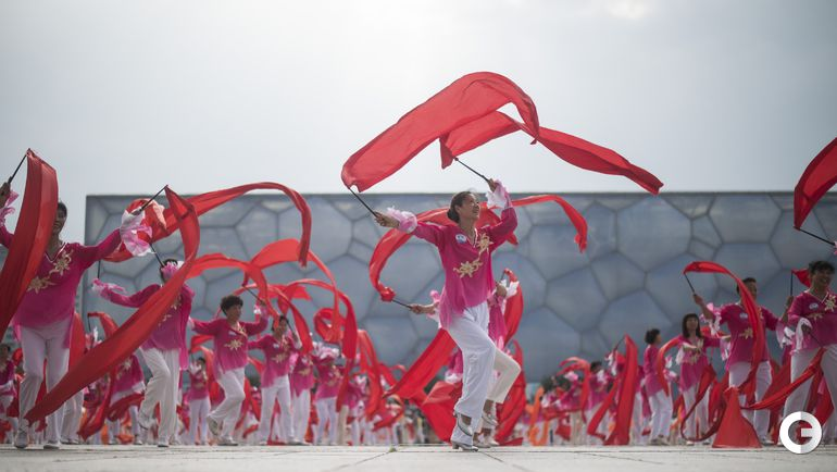 Пекин - столица Олимпиады-2022 Фото AFP