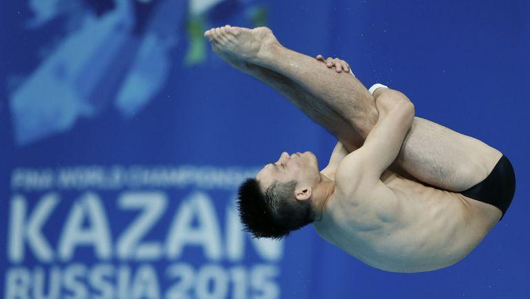 Трехкратный чемпион мира китаец Цю Бо - фаворит в прыжках в воду на 10 м. Фото REUTERS