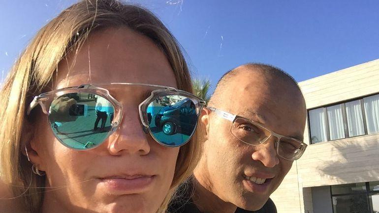 """Юлия ЕФИМОВА и Хомаюн ГАРАВИ. Фото Елена ВАЙЦЕХОВСКАЯ, """"СЭ"""""""