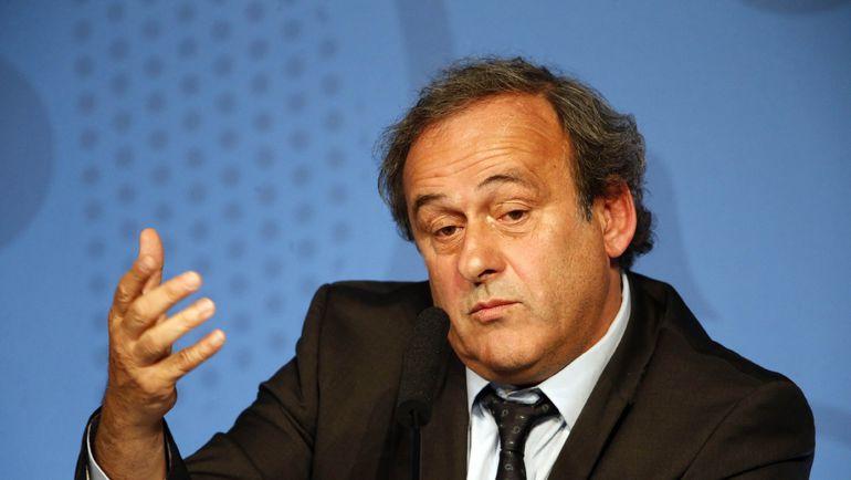 Президент УЕФА Мишель ПЛАТИНИ. Фото Reuters