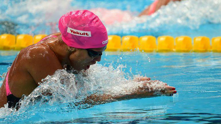 Ефимова вышла в полуфинал ЧМ на 100-метровке брассом