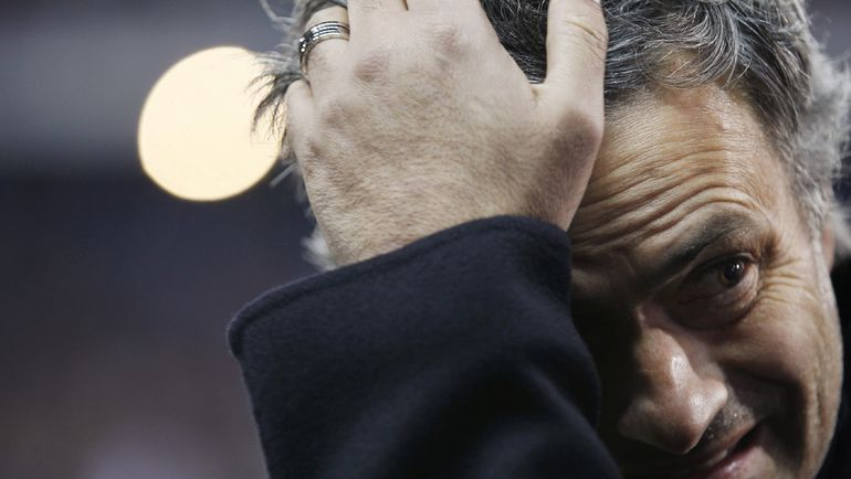 2010 год. Жозе МОУРИНЬЮ. Фото REUTERS