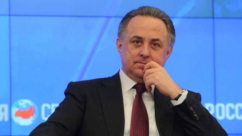 Министр спорта России Виталий МУТКО. Фото Федор УСПЕНСКИЙ, «СЭ»