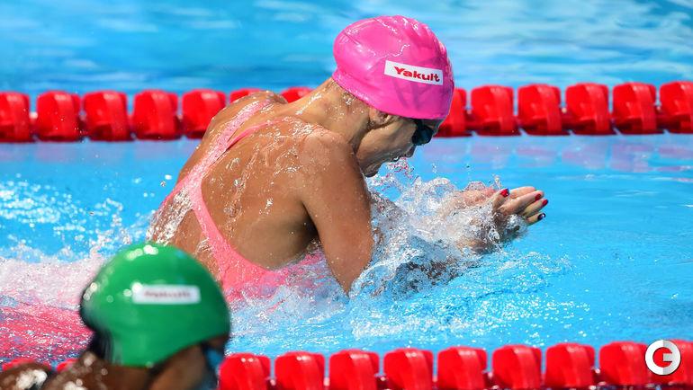 Ефимова - чемпионка мира на дистанции 100 м брассом Фото