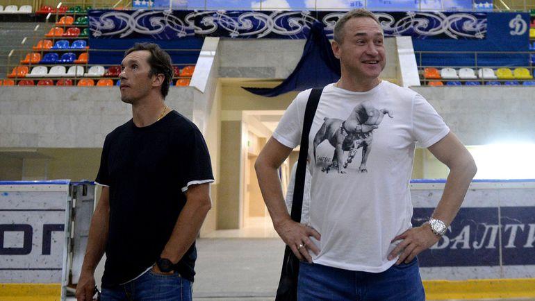 Вячеслав Козлов и Герман Титов
