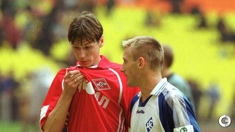 19 мая 2001. Егор Титов и Андрей Тихонов.