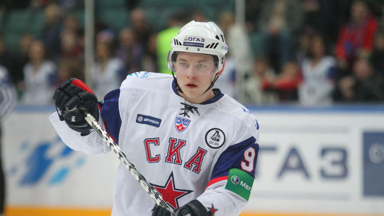 Владимир ТАРАСЕНКО незадолго до отъезда в НХЛ. Фото photo.khl.ru