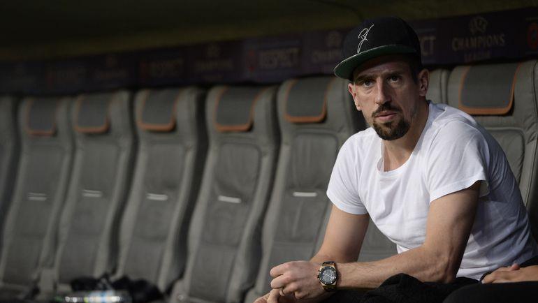 Франк РИБЕРИ все чаще смотрит футбол со стороны. Фото AFP