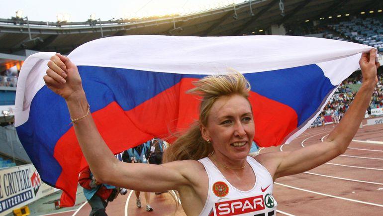 2006 год. Татьяна ТОМАШОВА - чемпионка Европы в Гетеборге. Фото REUTERS